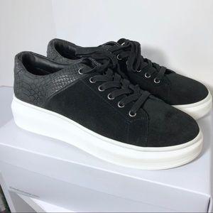 NIB J/Slides Dania Snakeskin Platform Sneakers